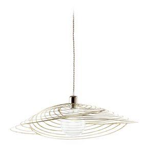 Nido Lamp, Lampe pendentif en métal coupé au laser, pour le ménage