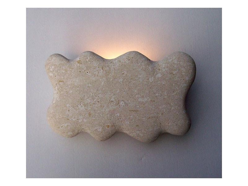 Nuvola, Lampe appliques en Vicence pierre blanche