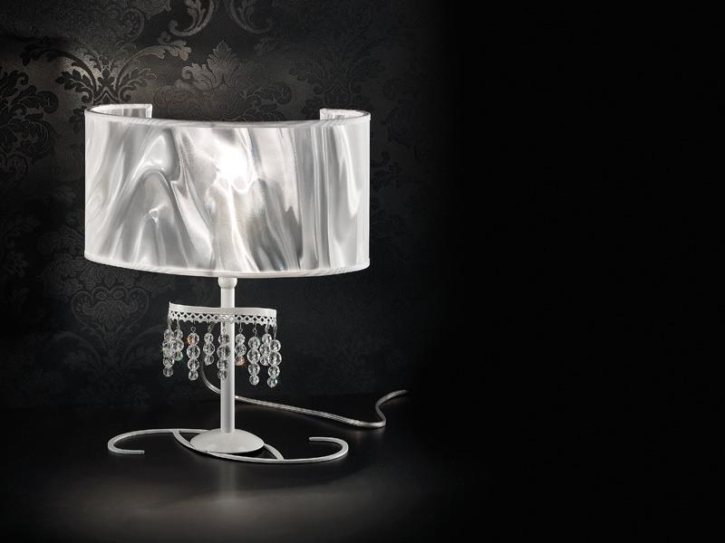Onda table lamp, Lampe de table avec diffuseur en fibre de carbone