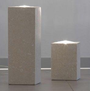 Pollicina, Lampe pour la maison, en pierre, éclairage dichroïque