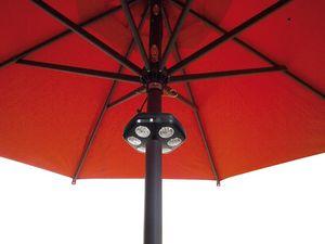 Sole Light, Lampe de parasol, éclairage LED