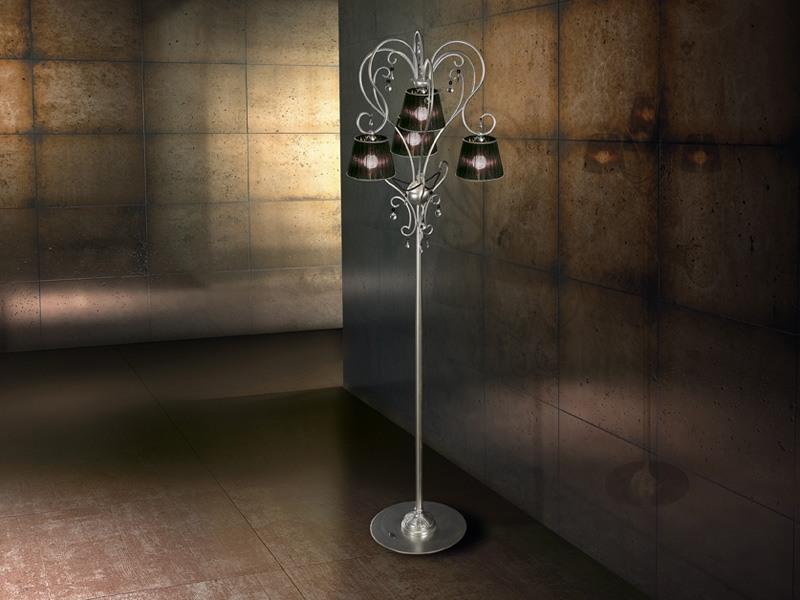 Venezia floor lamp, Lampadaire moderne Fer, pour riches salons