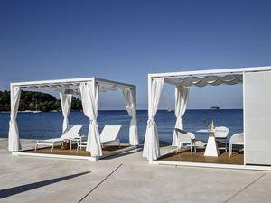 Kiosques, gazebos, cabines de plage