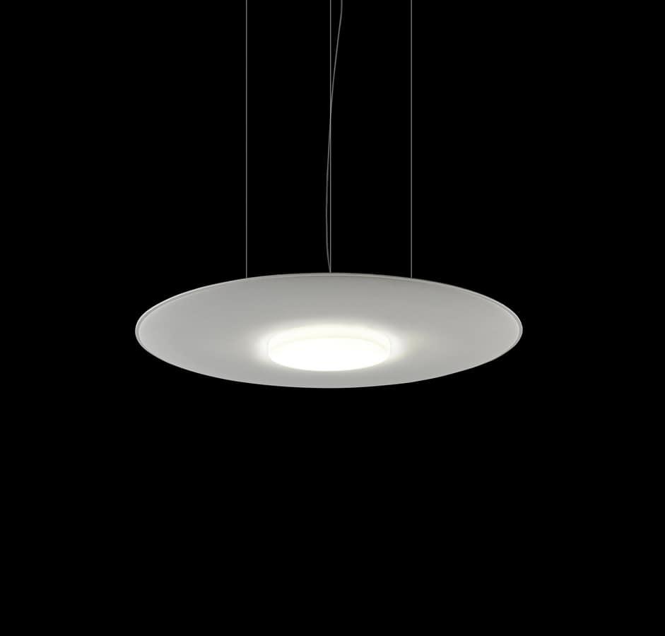 Giotto Lux, Lustre absorbant le son avec lumière led
