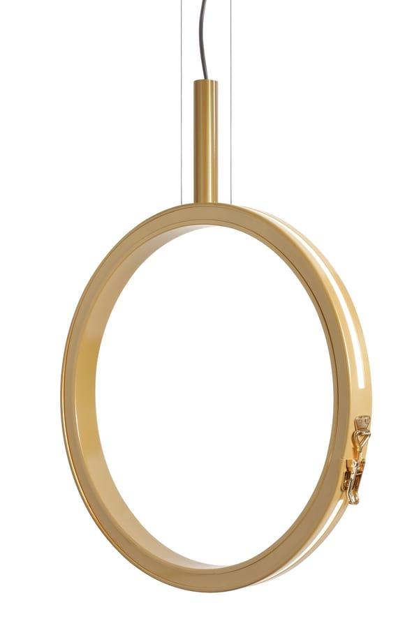 Periplo SE156 B, Lampe en forme de cercle, avec des lumières LED