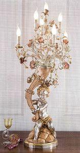 95637, Lampe à structure sculptée