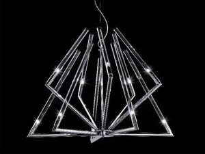 Daisy chandelier, Luminaire suspendu avec diffuseur en verre