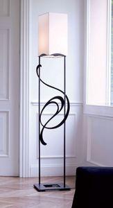Genesis, Fer lampe de sol idéal pour classique et élégant