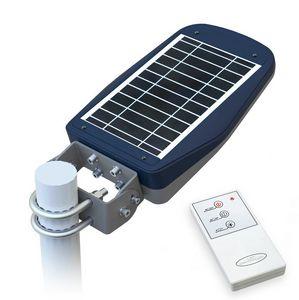 Lampe de rue à énergie solaire avec télécommande – LS030LED, Lampadaire avec panneau photovoltaïque, pour zones piétonnes