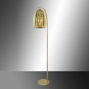 Salice Rp429-185, Lampadaire en cristal de feuille d'or