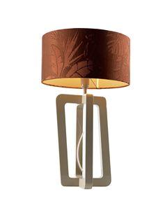 740201 Barnaby, Lampe de table avec abat-jour cylindrique