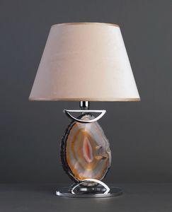 AGATA HL1033TA-1, Lampe de table avec agate