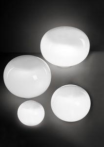 Aria, Lampe de table aplatie en forme de sphère