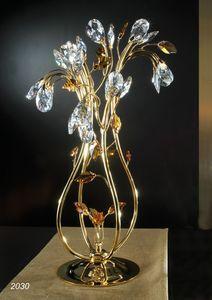 Art. 2030 Matisse, Lampe de table avec des d�corations en cristal Swarovski