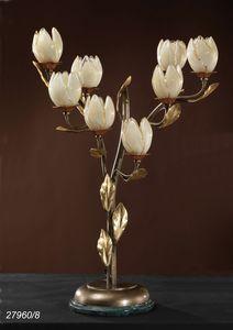 Art. 27960/8 Fior di Loto, Lampe de table avec 8 lumi�res