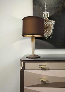 ART. 3360, Lampe à poser avec abat-jour cylindrique