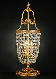 Art. 680 LT CR, Lampe de table élégante en laiton