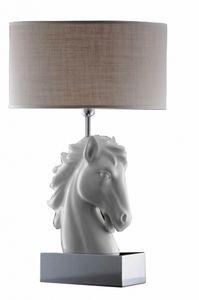 Art. LB344, Lampe de table sous la forme d'une tête de cheval