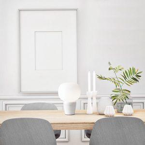 Bombo, Lampe de table avec base en marbre