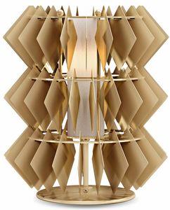 Diamante new lampe de table, Lampe de table avec pendentifs en losange