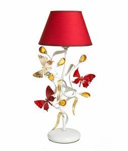 Julia LU/1, Lampe de table avec papillons décoratifs