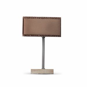 Keope Art. 1482, Lampe de table avec abat-jour carré