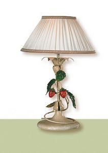 LP.8335/1/B, Lampe de table avec abat-jour en tissu