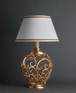 ORCIO HL1030TA-1, Lampe à poser avec base décorée