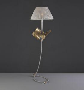 RASPO HL1073TA-1, Lampe de table à feuilles décoratives