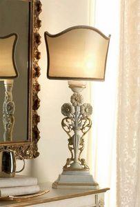 San Pietroburgo Art. ABA02/VSTI02/L43, Lampe de table de style classique avec sculptures