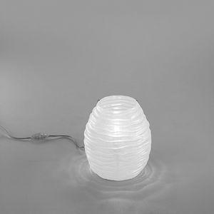 Sydney Lt607-025, Lampe de table en verre ambre ou blanc