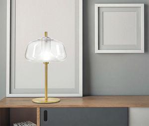 X-Ray, Lampe de table en verre borosilicate