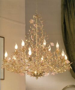 912112/gold, Lustre feuille d'or