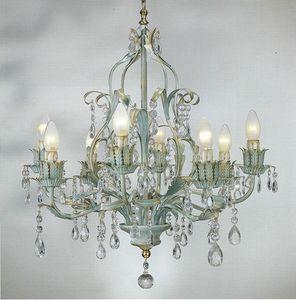 90518, Lustre avec cristaux décoratifs
