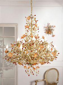 937112+10, Lustre luxueux avec verre de Murano