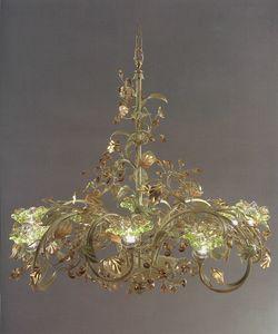 95218, Lustre à feuilles décoratives