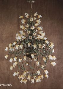 Art. 27150/120 Butterfly, Lustre avec des éléments floraux