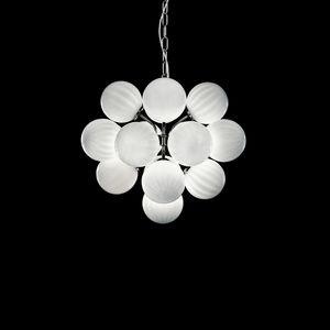 Atmosphera SS2800-17-W-N, Lampe à suspension avec des sphères en verre blanc