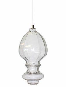 Ceraunavolta AC134 7S INT, Lampe en verre avec design classique