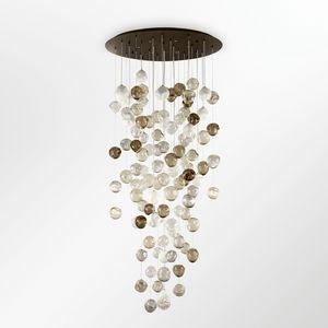 Desafinado PL7540-100×260-1, Plafonniers avec sphères de verre multicolores