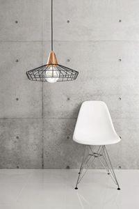 Freedom, Lampe avec structure en fil de fer