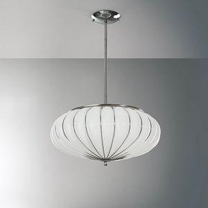 Giove Rs121-014, Lampe à suspension en verre de différentes couleurs