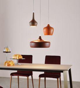 GOLDIE, Lampes suspendues en céramique