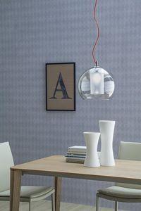 IRIDE, Table ou lampe suspendue, forme ronde