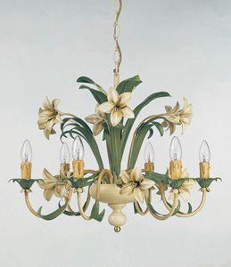 L.3635/6, Lustre avec des décorations florales