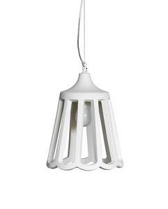 Le Pupette SE131 2B INT, Élégant lustre en céramique naturelle