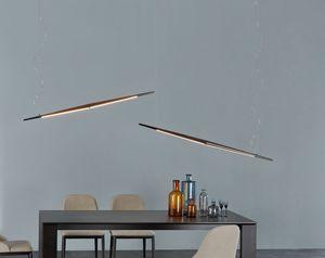 LOUNGE, Lampe à suspension horizontale