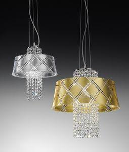 MEDUSA Ø 30/40, Lampe à suspension avec pendentifs en cristal