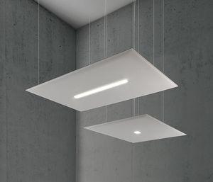 Oversize Lux, Panneaux insonorisants avec lumière LED intégrée
