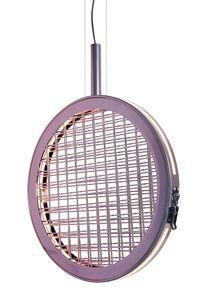 Periplo SE156 A, Lampe à suspension avec entrelacement métallique